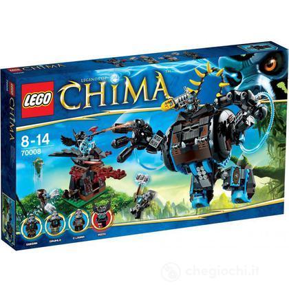 Il Gorilla d'assalto di Gorzan - Lego Legends of Chima (70008)