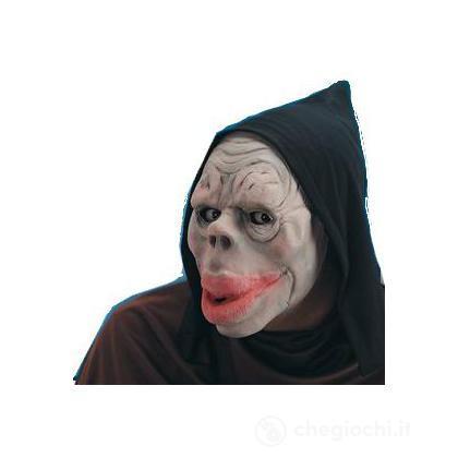 Maschera dell'orrore con cappuccio