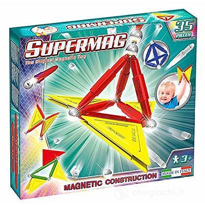 Supermag Tags Primary 48 pezzi Gioco di Costruzioni Magnetico (94928)