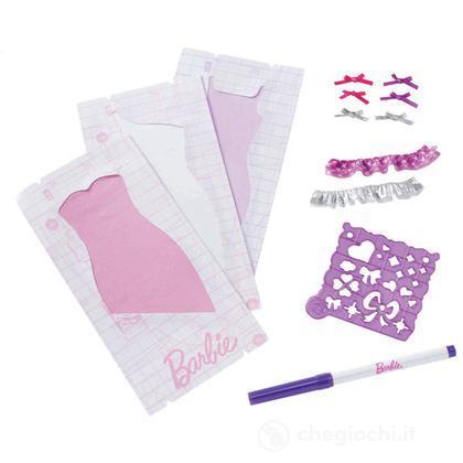 Kit di Ricarica Barbie Disegna lo Stile - Viola (W3915)