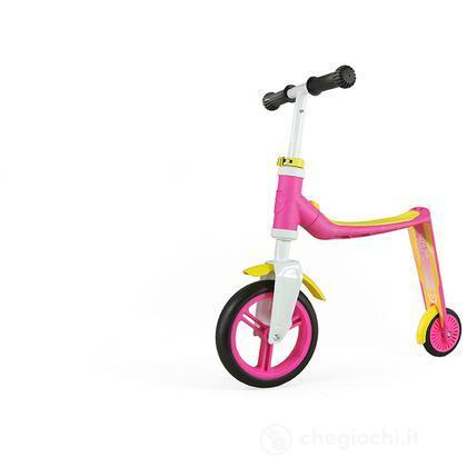 Highwaybaby bici monopattino rosa giallo