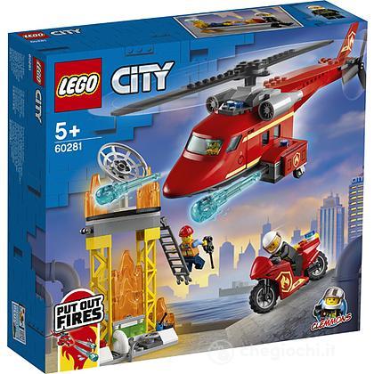 Elicottero antincendio e Auto della polizia - Lego City (60281)