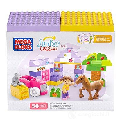 Mega Bloks Junior Builders Box Costruzioni Bimba (CYR55)