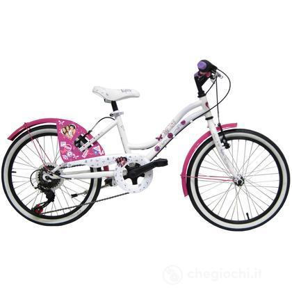 """Bicicletta Violetta 20"""" - 5 velocità (25155)"""