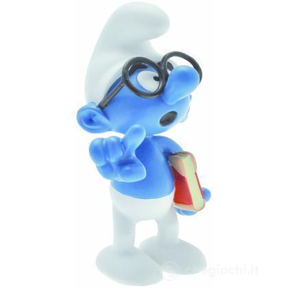 Puffo Quattrocchi con occhiali, da collezione