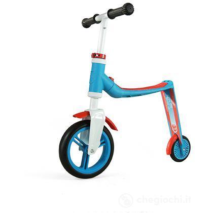 Highwaybaby bici monopattino blu rosso