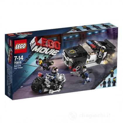 L'inseguimento in auto di Poliduro - Lego Movie (70819)