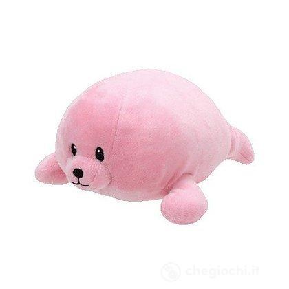 Peluche foca rosa 15 cm