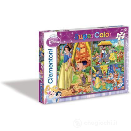 Biancaneve - puzzle 3x48