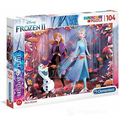 Puzzle 104 Brilliant Frozen 2