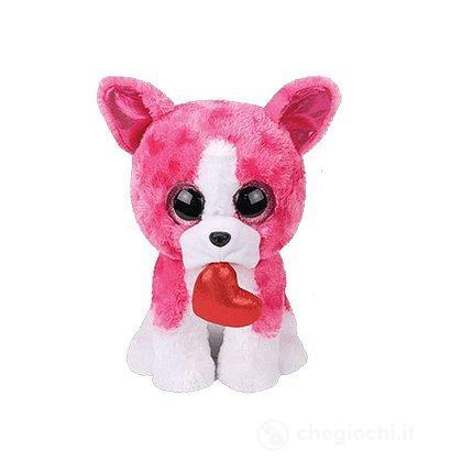 Cane con cuore Romeo Peluche 28 cm