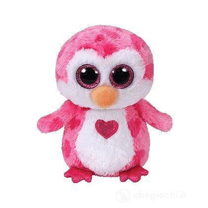 Pinguino cuore Juliet Peluche 28 cm