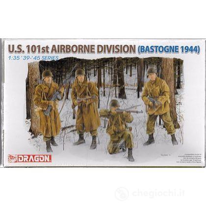 Soldati U.S.101st Airborne division (Bastogne 1944) (DR6163)