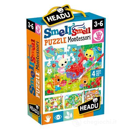 Puzzle Smell Smell Montessori (IT21635)