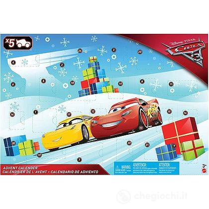 Calendario dell'Avvento Cars 3