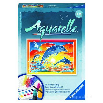 Aquarelle mini - delfini (29167)