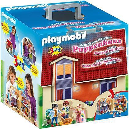casa delle bambole portatile 5167 prima infanzia