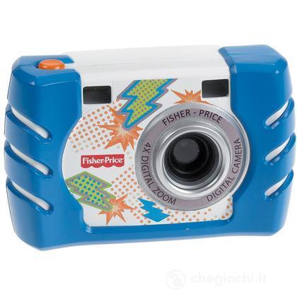 Macchina Fotografica Digitale blu (W1459)