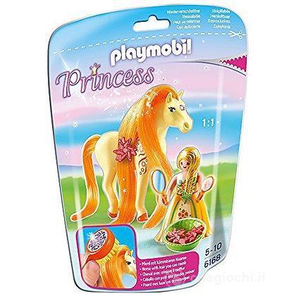 Principessa Sole con pony dalla lunga chioma (6168)
