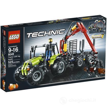 LEGO Technic - Trattore e caricatore di tronchi d'albero (8049)