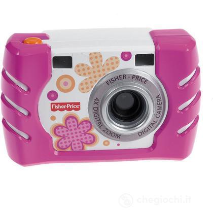 Macchina Fotografica Digitale rosa (W1460)