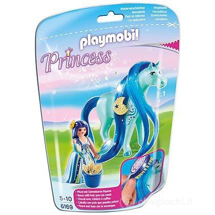 Principessa Luna con pony dalla lunga chioma (6169)
