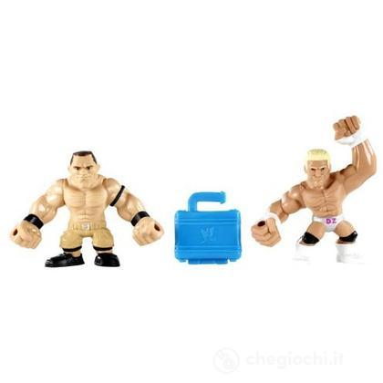 WWE Slam City Dolph Ziggler e John Cena - Personaggi cartoni animati battaglia (BHK79)