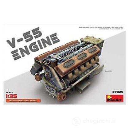 Motore V-55 Engine. Scala 1/35 (MA37025)
