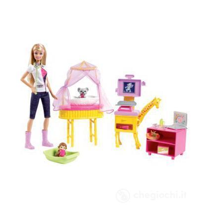 Barbie I Can Be... Veterinaria dello zoo  (W2760)