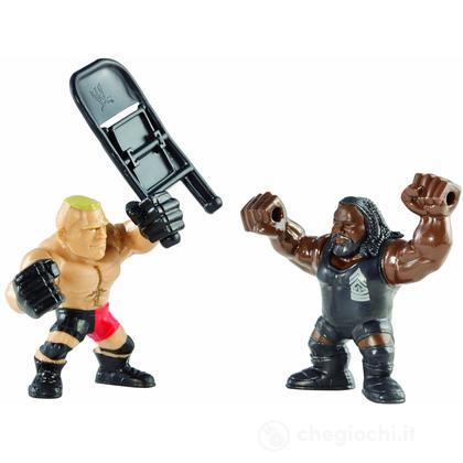 WWE Slam City Brock Lesnar e Mark Henry - Personaggi cartoni animati battaglia (BHK80)