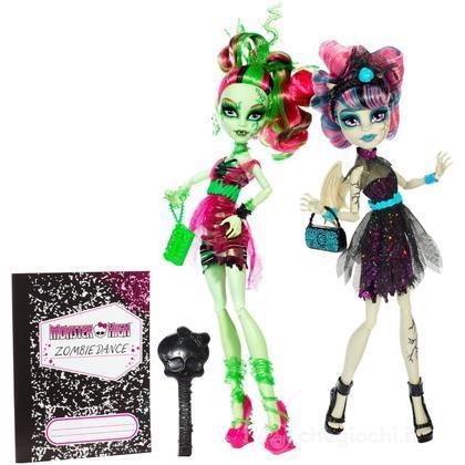 Rochelle Goyle e Venus McFlytrapp - Zombie Shake Monster High 2 pack (BJR17)