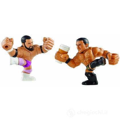 WWE Slam City Damien Sandow e Alberto Del Rio - Personaggi cartoni animati battaglia (BHK81)