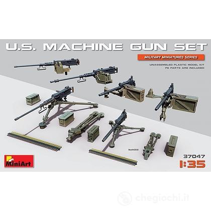 U.S. Set mitragliatrici. Scala 1/35 (MA37047)
