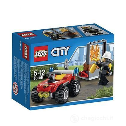 Lego City Fire 60105 - ATV dei pompieri