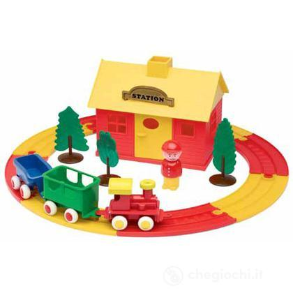 Multiplay set stazione ferroviaria