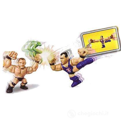WWE Slam City Randy Orton e Santino Marella - Personaggi cartoni animati battaglia (BHK83)
