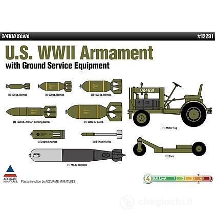 Aereo U.S. Wwii Armament Set (AC12291)