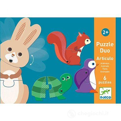 Puzzle Duo animali articolati (DJ08175)