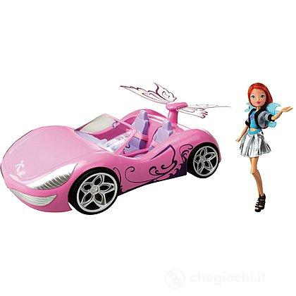 Winx Bambola Bloom con Auto Fairy Car (CCP01944)