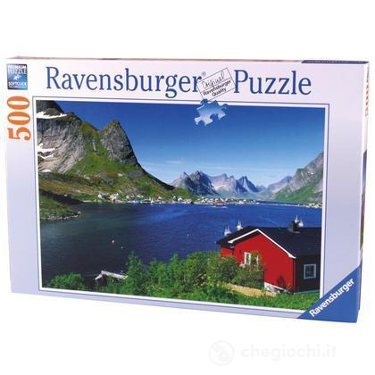 Villaggio di pescatori, Norvegia (14176)