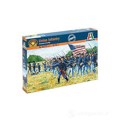 Soldati Fanteria dell'Unione. Guerra civile americana 1/72 (IT6177)