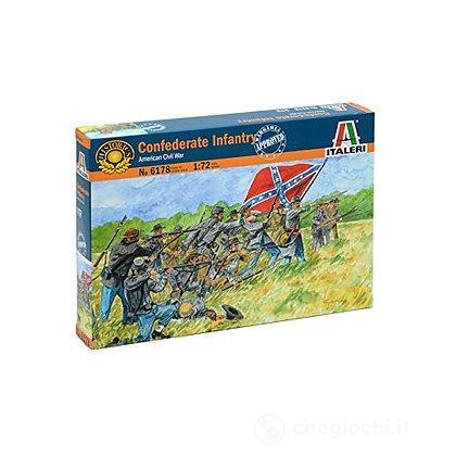 Soldati Fanteria confederata 1/72 (IT6178)