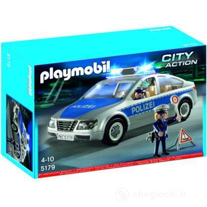 Auto della Polizia con luce GERM. (5179)