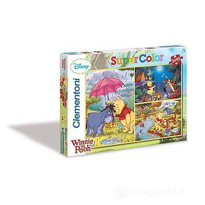 Winnie the Pooh Puzzle 3x48 pezzi (25180)