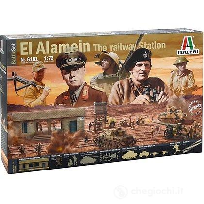Diorama El Alamein battle 1/72 (6181)