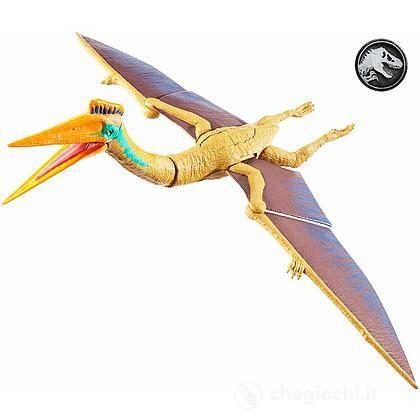 Jurrasic World- Super Attacco Doppio Quetzalcoatlus Dinosauro Articolato (GFH08)