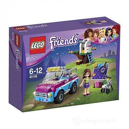 L'auto per esplorazioni di Olivia - Lego Friends (41116)