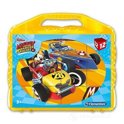 Valigetta Cubi 12 pezzi Mickey (41183)