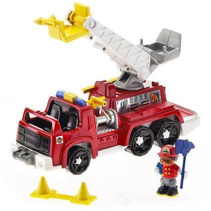 Michael e il camion dei pompieri Little People (L3940)