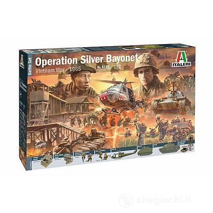 Diorama Guerra Vietnam Battaglia di Ia Drang Operazione Silver Bayonet (IT6184)
